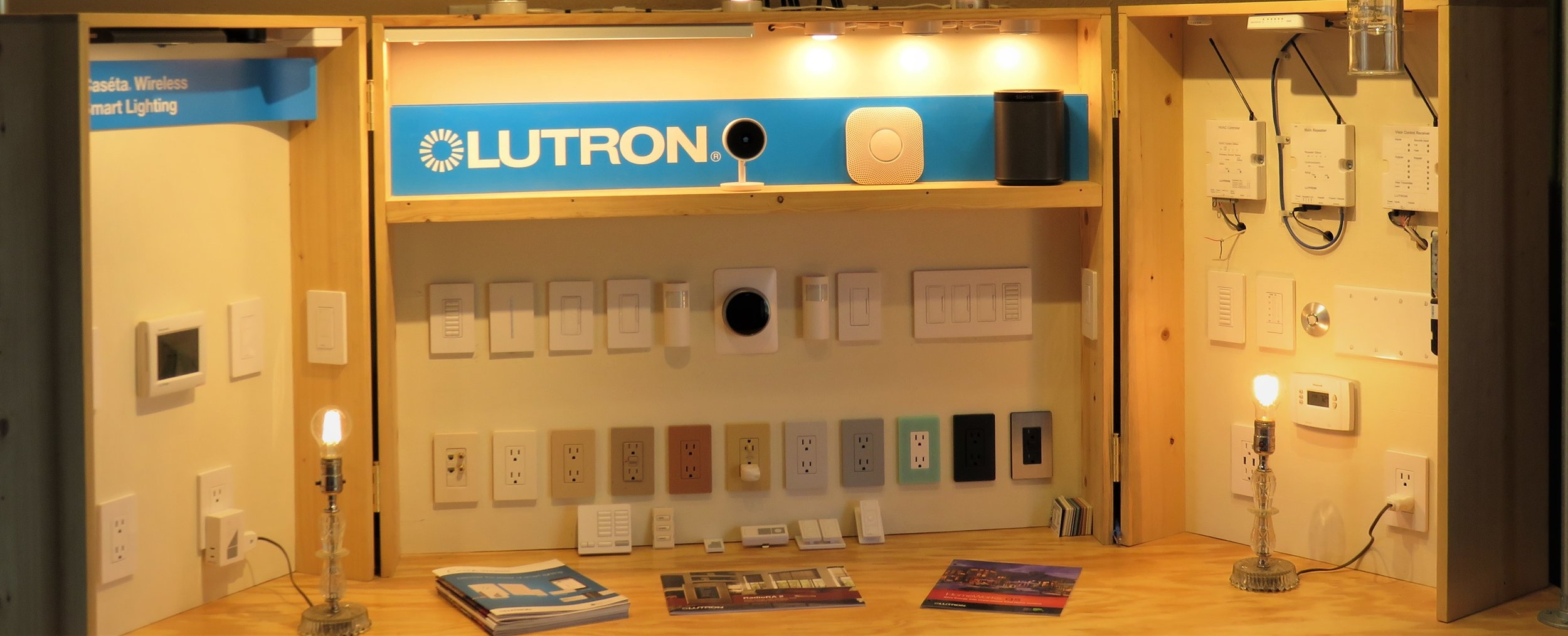 Our Lutron Experience Board! Stop by our office and check it out!