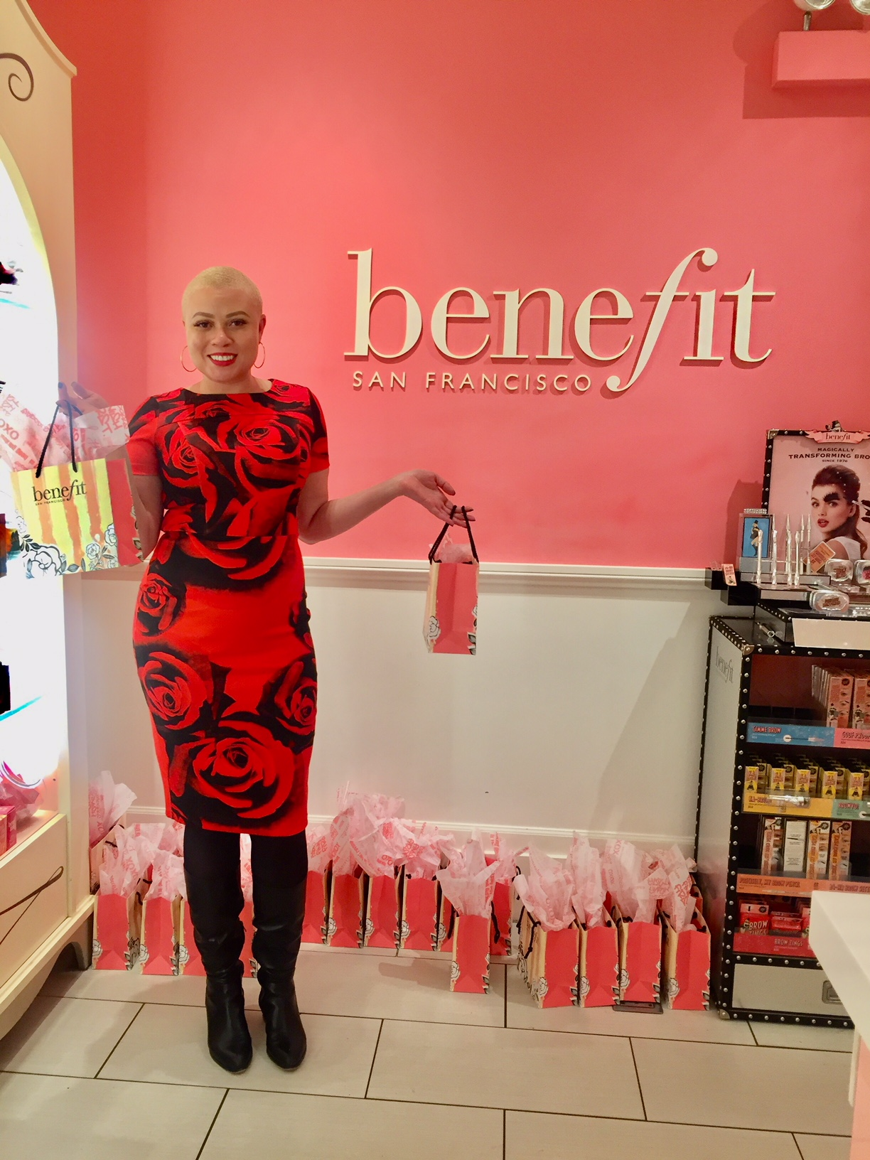It's a Beauty Bash With Benefit Cosmetics!