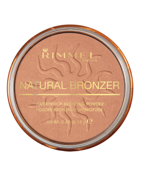 Bronzer / Sunshine - The Rimmel London Natural Bronzer gives you that long lasting glow without the sun's rays. With a hint of shimmer, you'll be able to achieve a natural sun kissed look. Available in 4 colors: Sun Bronze, Sun Light, Sunshine, and Sun Dance.