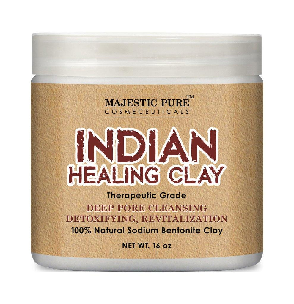 INDIAN HEALING CLAY MASK SKINCARE