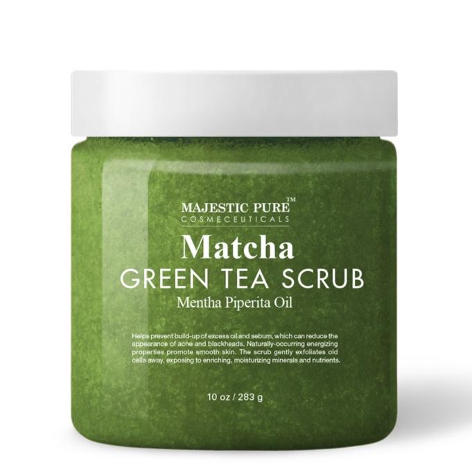 MATCHA GREEN TEA SCRUB SKINCARE