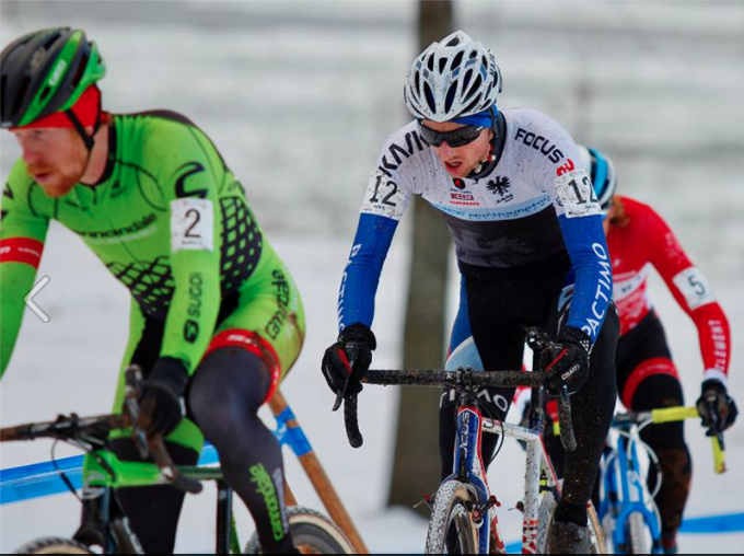 Jack Kisseberth Raced to a Fourth Place Finish at US Cyclocross Nationals, Earning Him a Spot on the World Championships Team. Photo: JAM Fund Cycling.