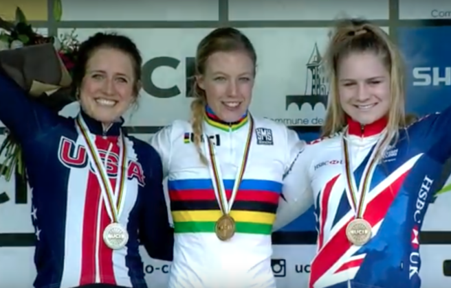 U23 Women World Championships Silver Medalist Ellen Noble.