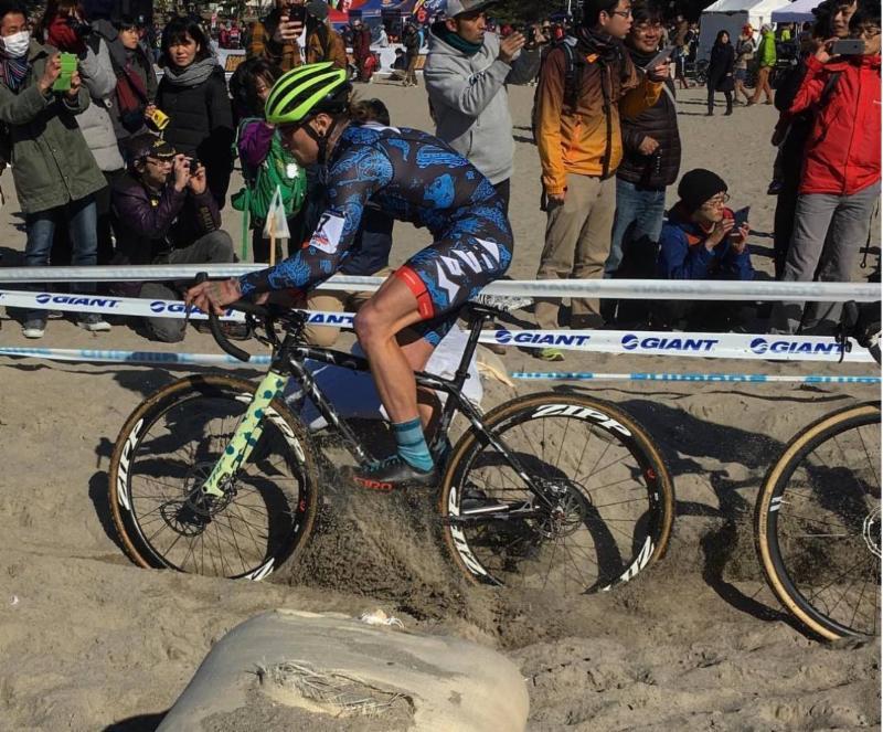 Cycle-Smart athlete Anthony Clark. Photo: JAM Fund Cycling.