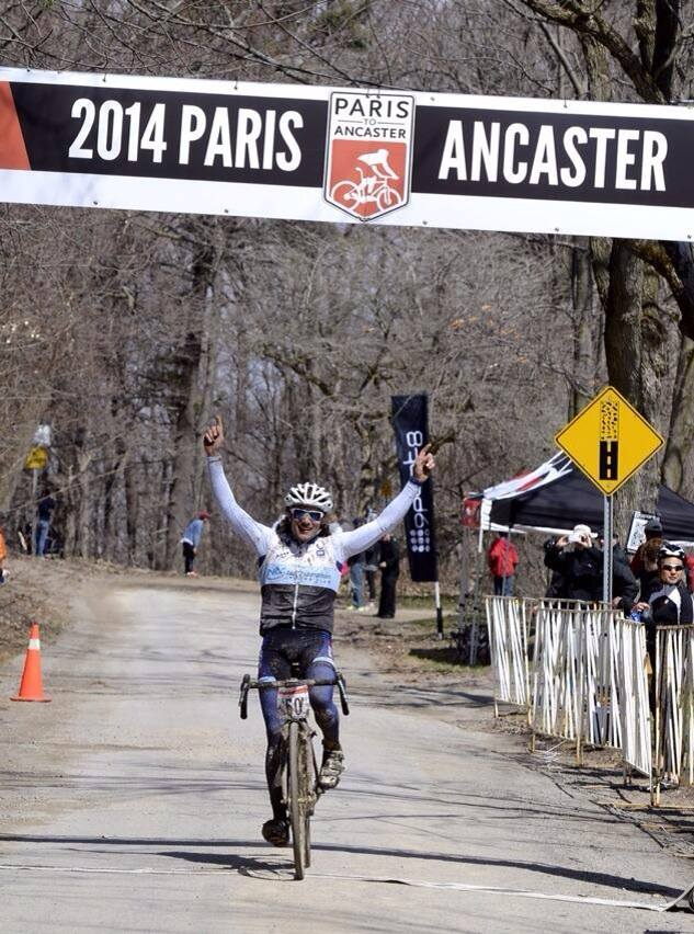 Anthony Clark wins Paris to Ancaster in 2014. Photo: Paris to Ancaster.