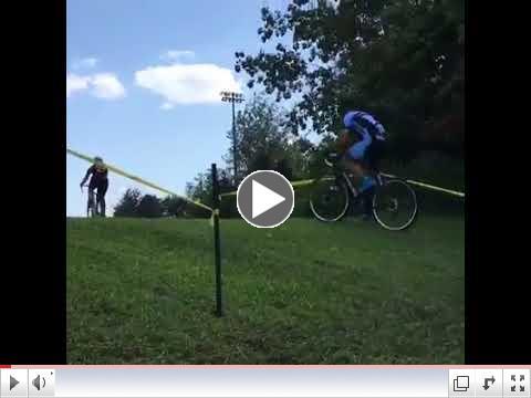 Charlotte, NC Campers Practice Hillside Turns