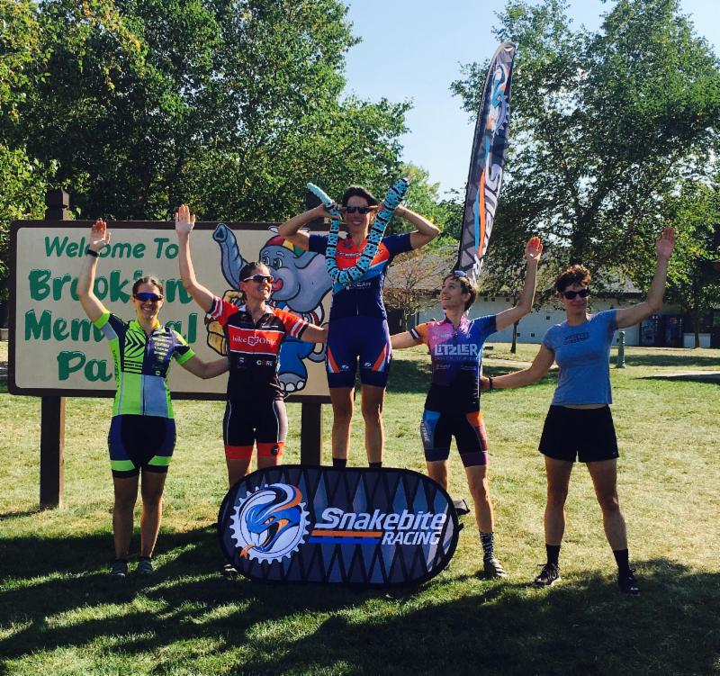 Samantha Brode wins the cat 1/2/3 women's race at NEOcx.