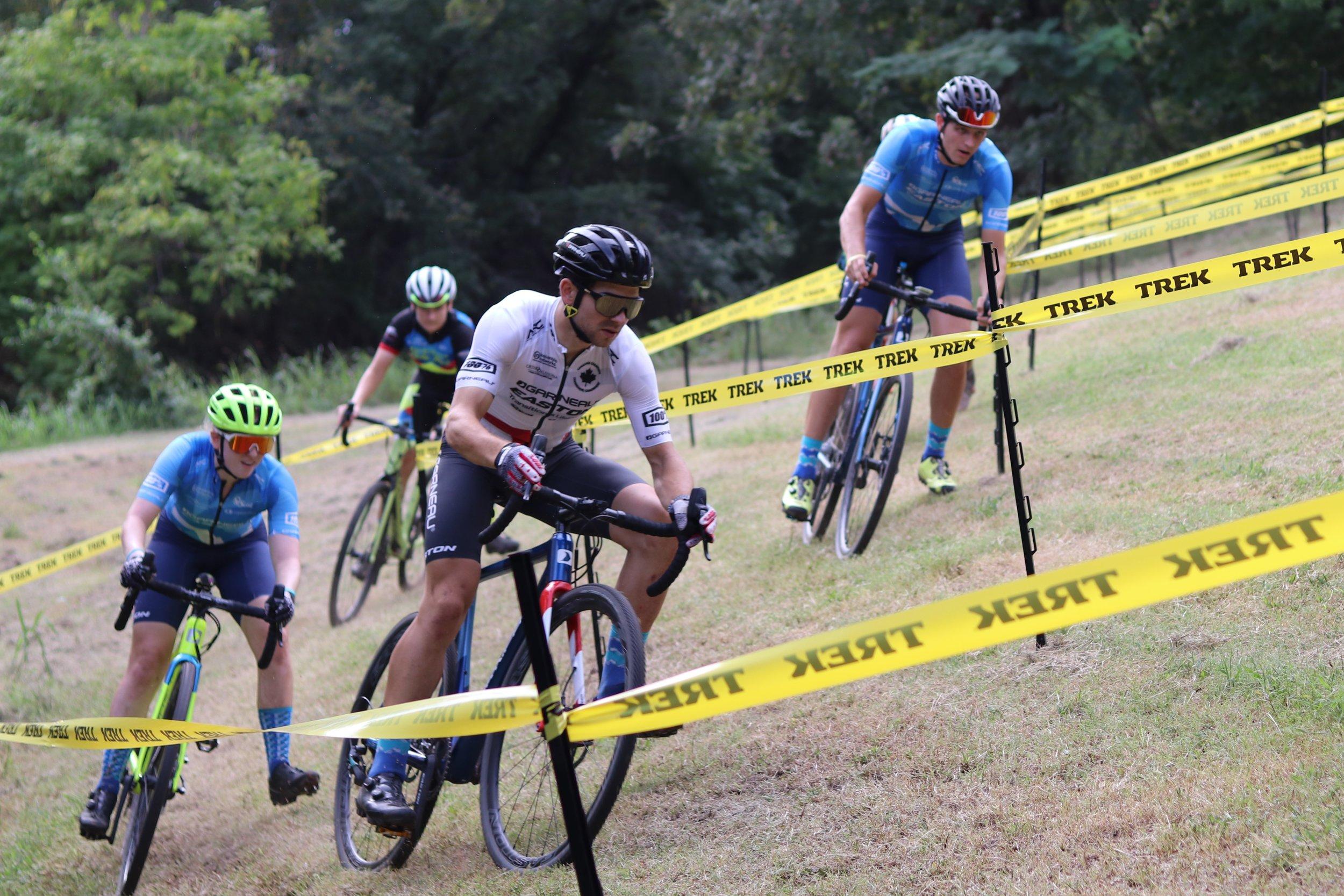 Michael van den Ham coaches at Cycle-Smart Oklahoma 'Cross Camp.