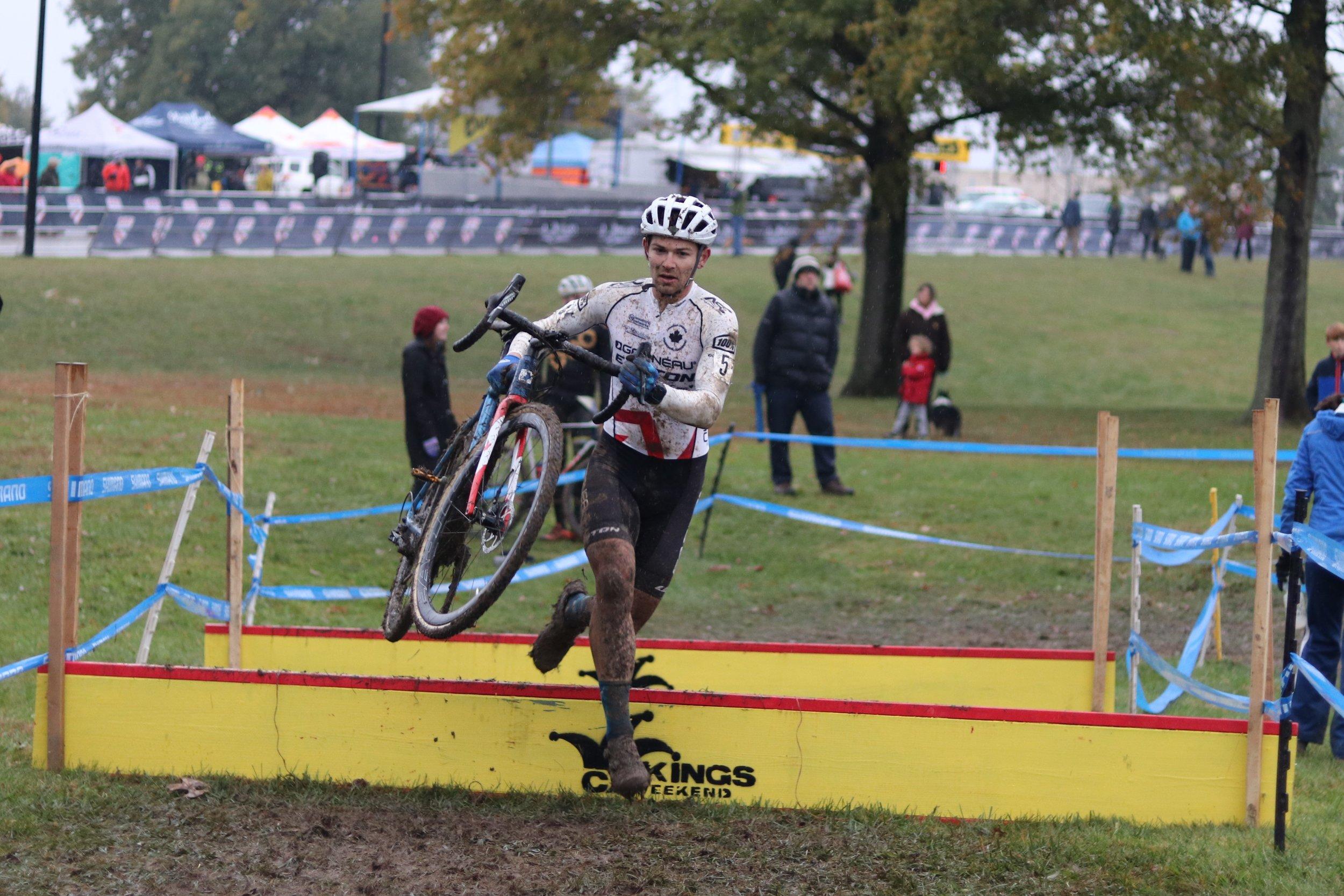 Michael van den Ham races CincyCX. Photo @tooleycycling
