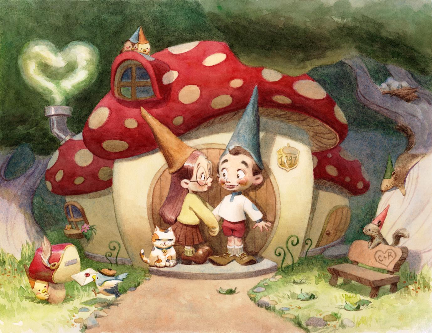 """Gnome Sweet Gnome"""
