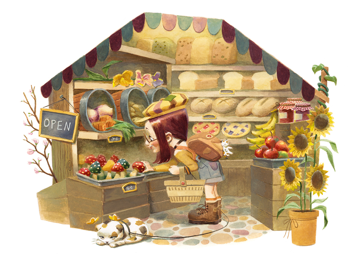"""""""A Day at the Market"""""""