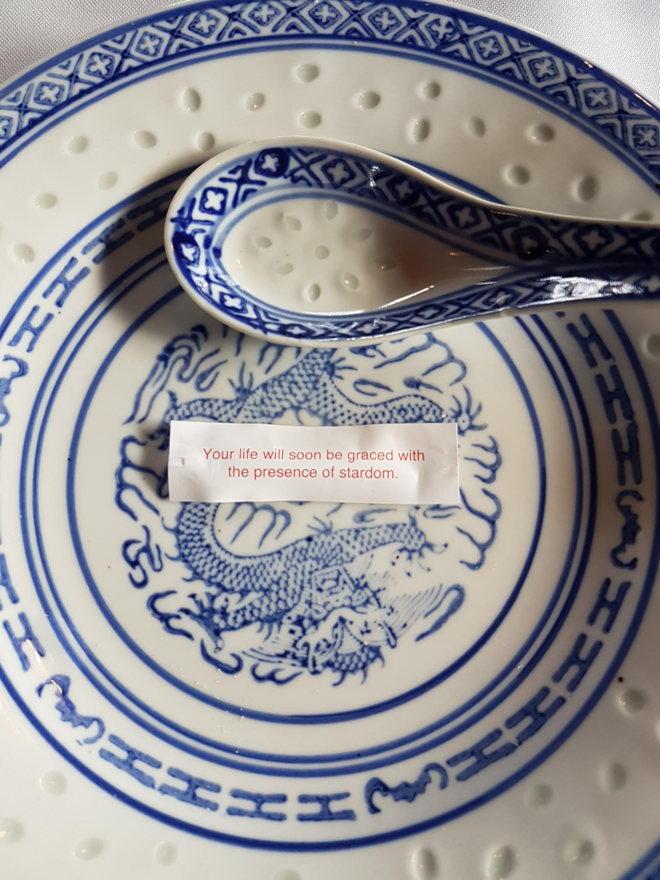 My Chinese fortune