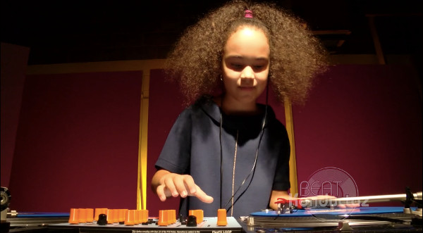 9-Year-Old DJ Kool Flash at the Beat Konductaz 5th Annual Head To Head Sound Design Competition -  (2015) (VIDEO)