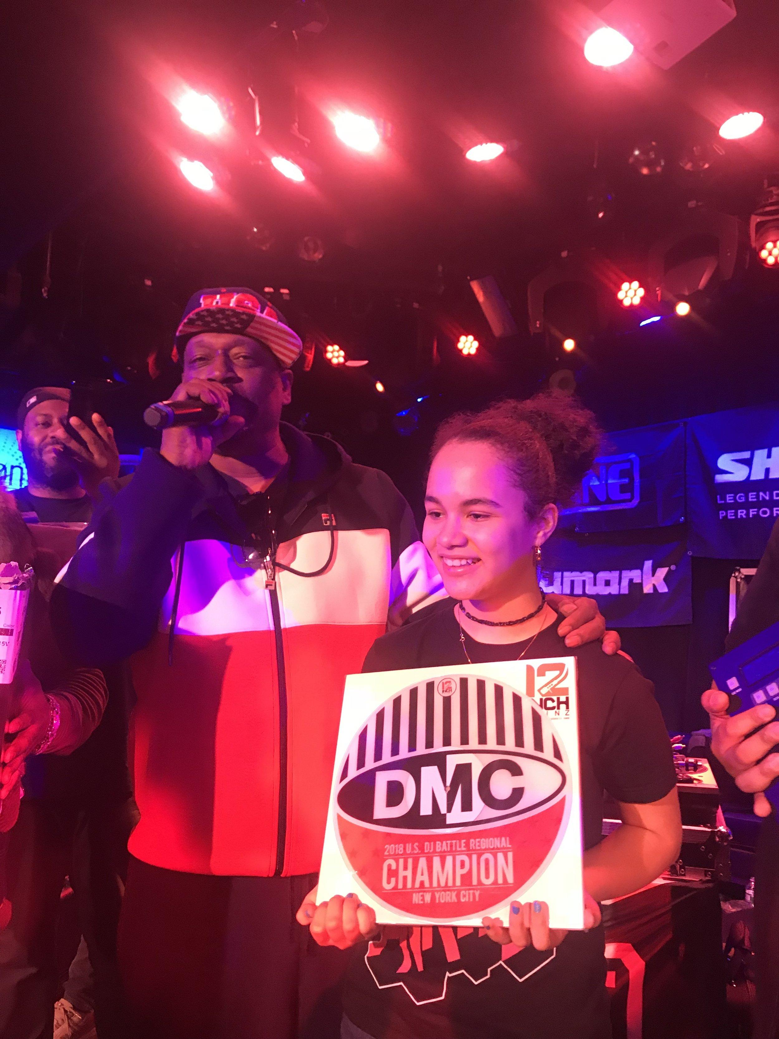 GrandMaster Caz announces Kool Flash DMC NYC Champion 2018.jpg