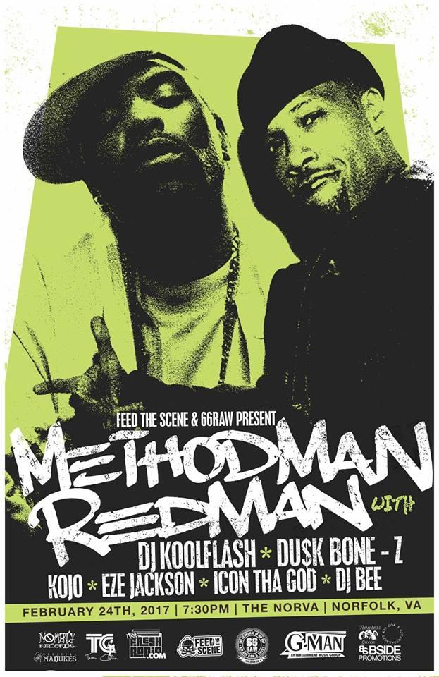 DJ Kool Flash - MethodMan_Redman Norfolk, VA 2_17 #2.jpg