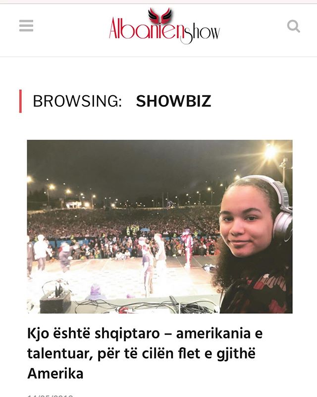 Shume Faleminderit 🙏🏽❤️ @ylber_kelmendi & @albanianshow_official per artikullin 🙏🏽❤️❤️ 🇦🇱 Full article: click link in bio ⬆️⬆️⬆️ #brooklyn #albaniangirl #girldj #ranedj