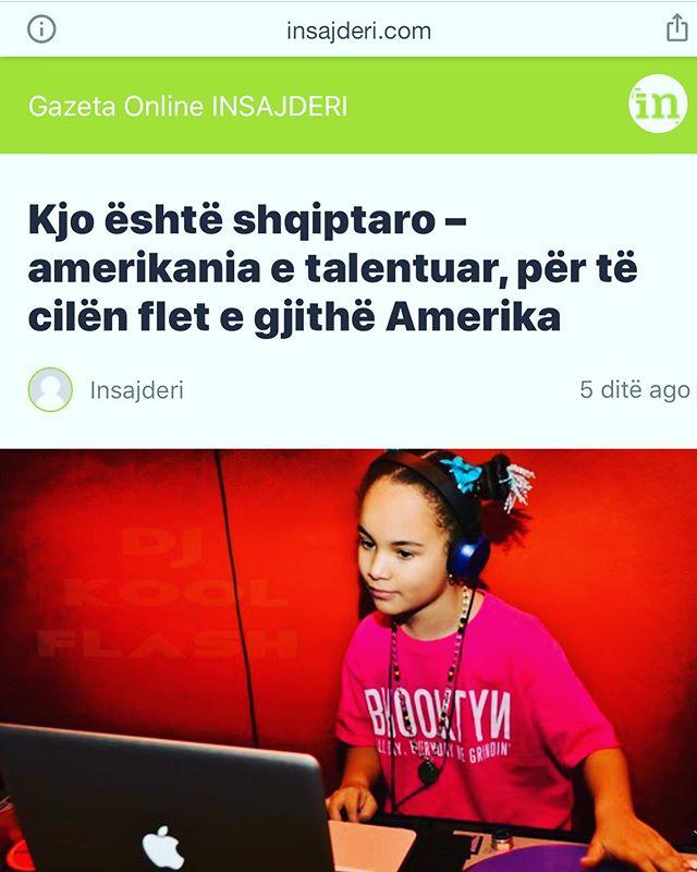 Shume Faleminderit 🙏🏽🙏🏽❤️ @gazetainsajderi & @ylber_kelmendi  per artikullin dhe per përkrahjen 😊 Shume Krenare qe jam Shqipetare👐🏼🇦🇱🙏🏽❤️🇦🇱 👐🏼 Full article: click link in bio ⬆️⬆️⬆️ #dmc2018nycchamp🏆 #realhiphop #brooklyn #love #albaniangirl #girldj #ranedj #love