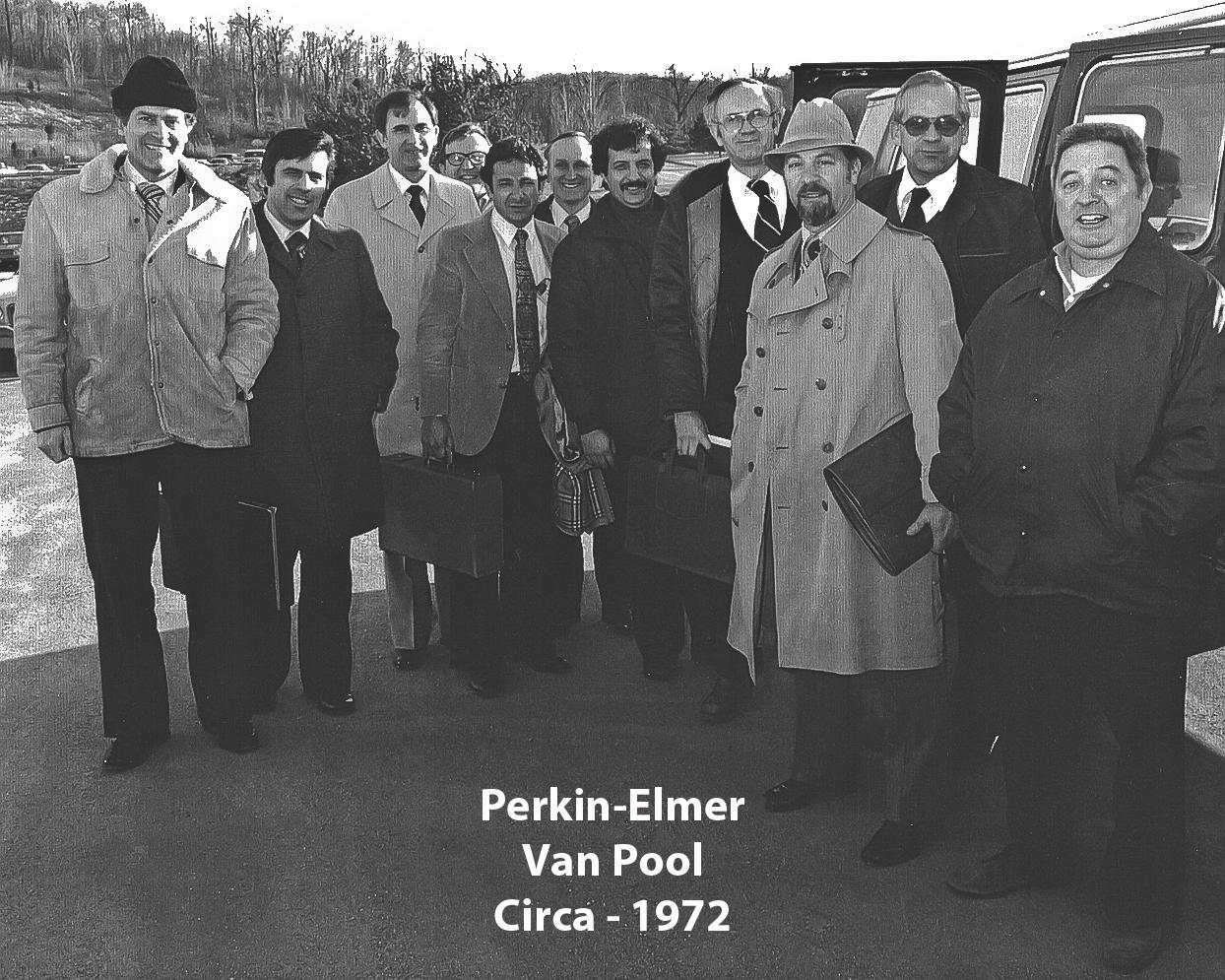From left Paul Taormina, John Connic, Tom Tracy, Bruce Meyer, Eph Tobin, Bill Morris, Jerry De Clement, Jon Aspinwall, Lou Trapasso, Chet Sokol, John Keating