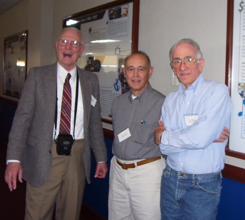 Left to right: Dick Carricato, Joe Vollaro, Tony Bassaro