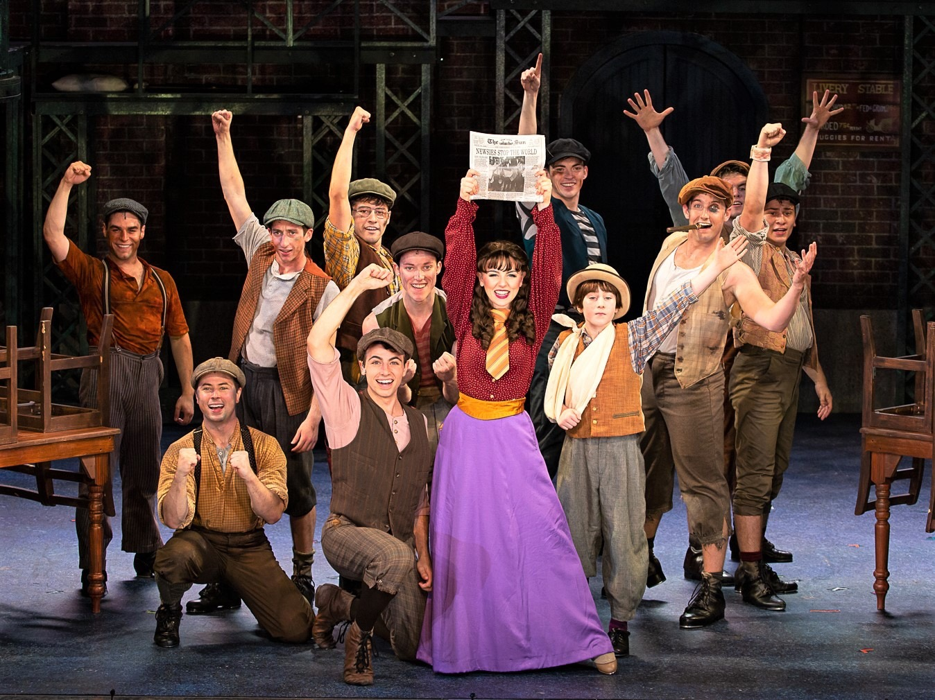 Katherine Plumber in Theatre by the Sea's  NEWSIES  (2019)
