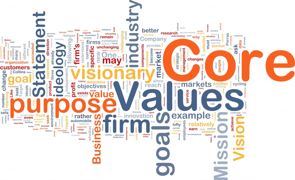 What are the things that give your life meaning and purpose? These are your values
