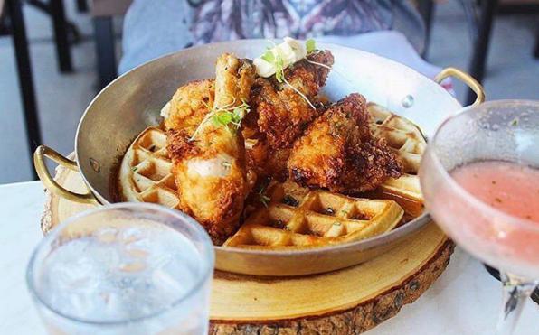 Fried Chicken & Waffles (@spark.illy)