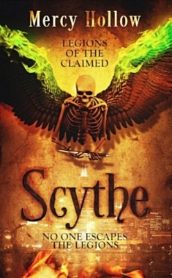SCYTHE - Under-the-table motorcycle mechanic Sly Morgan has been running his whole life, from his parents' past, and now, from the Legion drug dealers who murdered his family. When the Ruler's daughter finds him, she plunges her father's dagger in Sly's heart. The antigen within grants Sly a name and a purpose but enslaves him to the Legion, a ritualized underworld hidden in modern day Chicago. His only salvation is Gracious, a Claimed woman driven by strength and compassion, bound to her own web of deceit and forced servitude. Protecting the secret locked inside him allows Sly a shot at a future, but spurs the Rulers of the Legions toward war. His alligience could unleash peace or seal his and Gracious' Second Death.