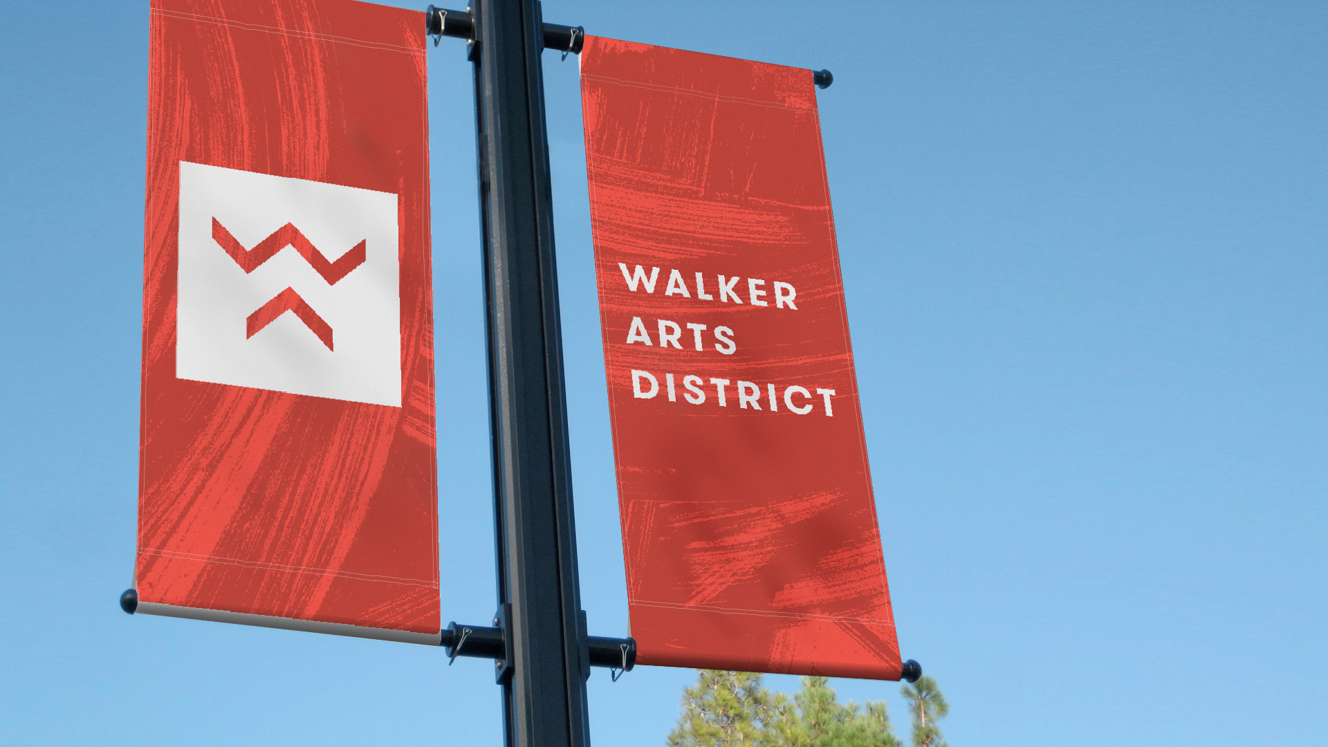 Norman Arts Council plans to install street flags brandishing the Walker Arts District name in the near future.