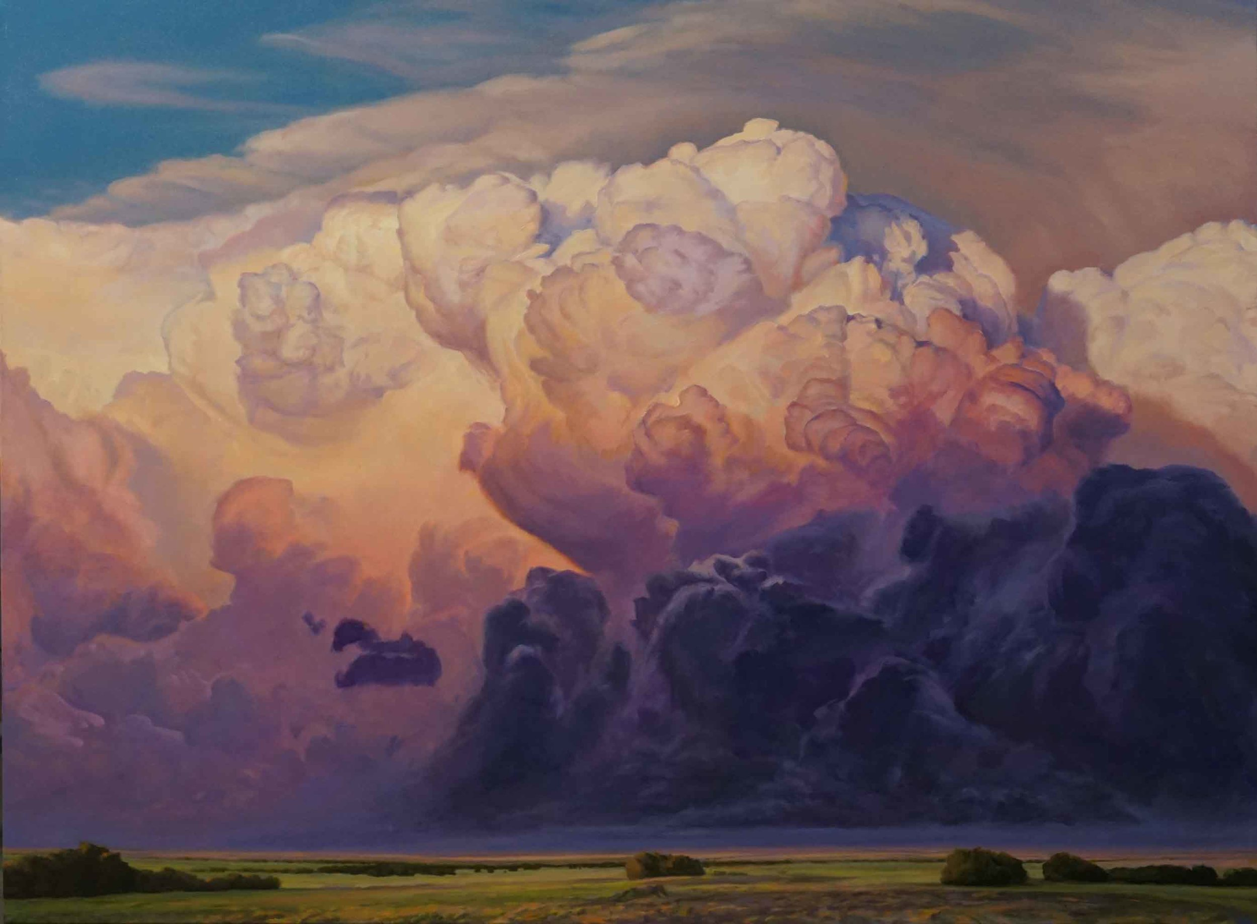 On the Shoulders of Giants | David Holland | 36x48"