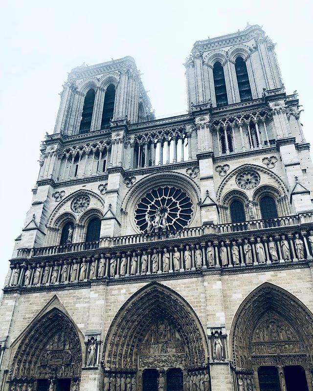 11.2018 when I saw the beauty in person. Such sad news to hear of its fire, but I think it's still mostly standing. A 850 year old legend @notredamedeparis  #christinelaiphotography . . . . . . . #notredame #paris #legend #notredamecathedral #cathedral #travel #architecture #photography #photoig #cityscape