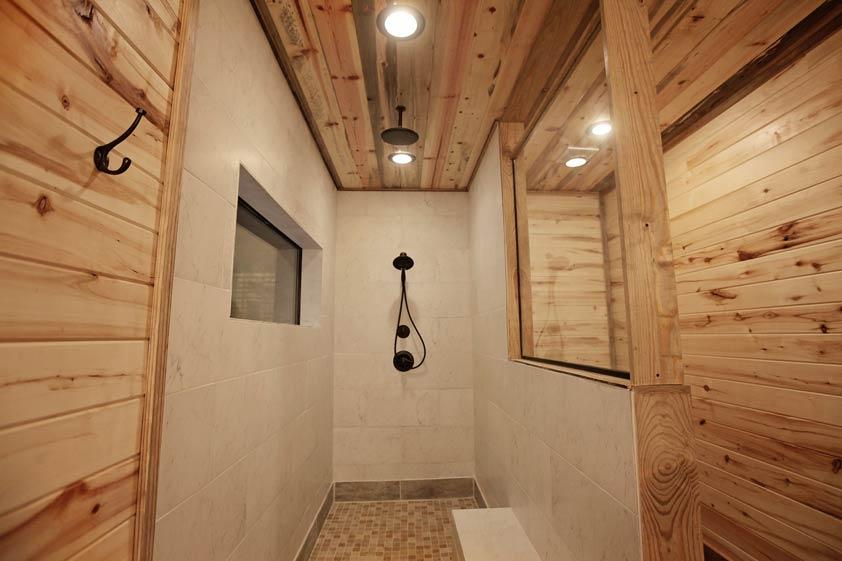 Rustic Retreat | Master Suite Bathroom #1