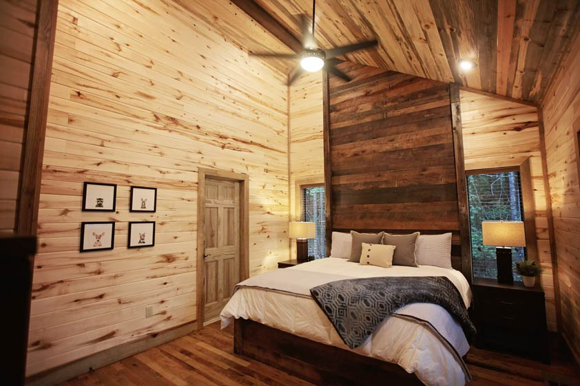 Rustic Retreat | Master Bedroom Suite #2