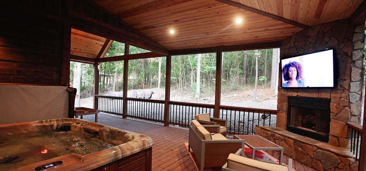 Rustic Retreat | Outdoor Living Area