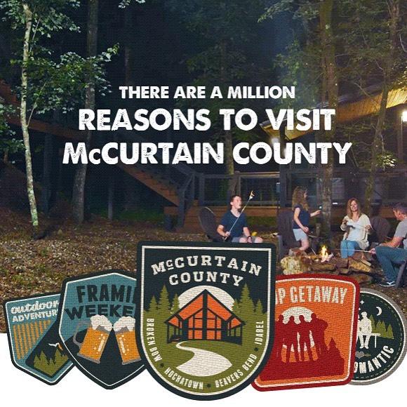 We're honored!! Rustic Hollow Cabin is in McCurtain County's new video: There Are A Million Reasons to Visit McCurtain County. This incredible video truly captures the many reasons why McCurtain County has our hearts. It's a magical place and we couldn't love it more! Thank you @mccurtainok for including #RusticHollowCabin! Swipe up on this photo in our stories to link to the video!🌲🐿🥾🎣🏕🛶