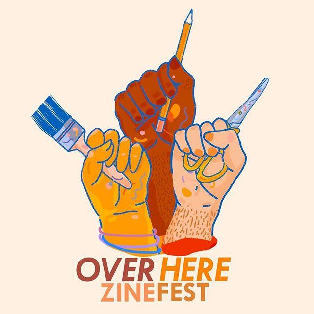 POC zine makers, applications for @overherezinefest are now open! More info coming soon ‼️#overherezinefest