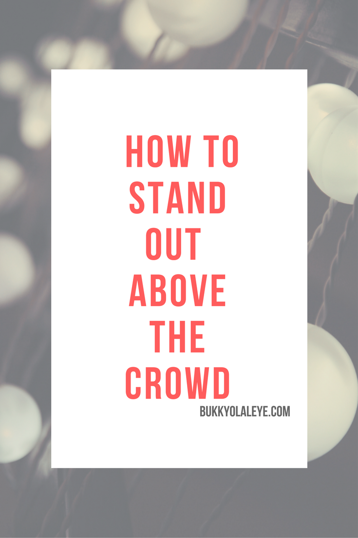 stand out in business