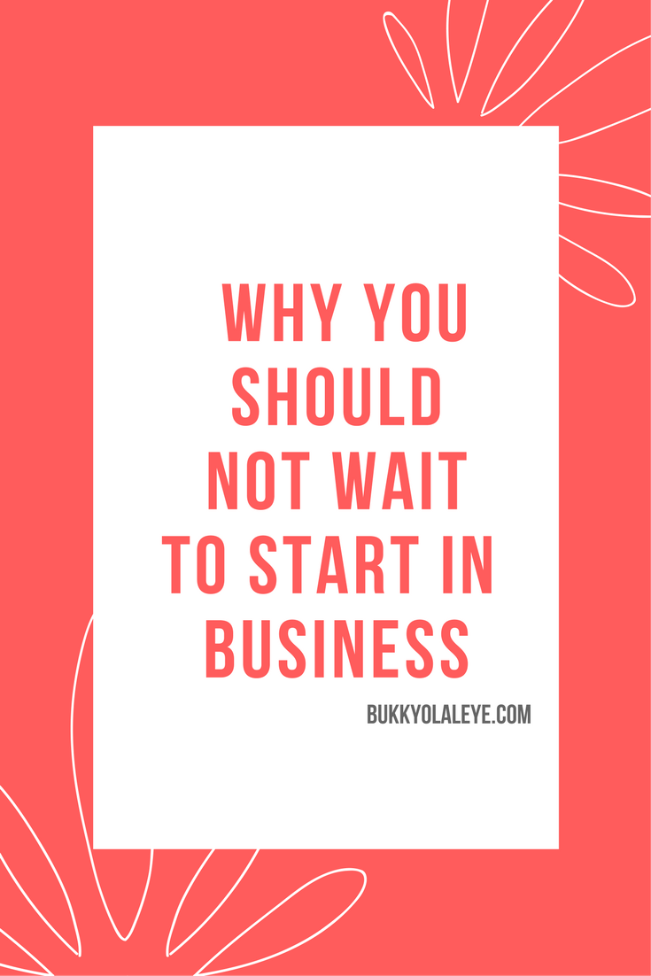 start in business