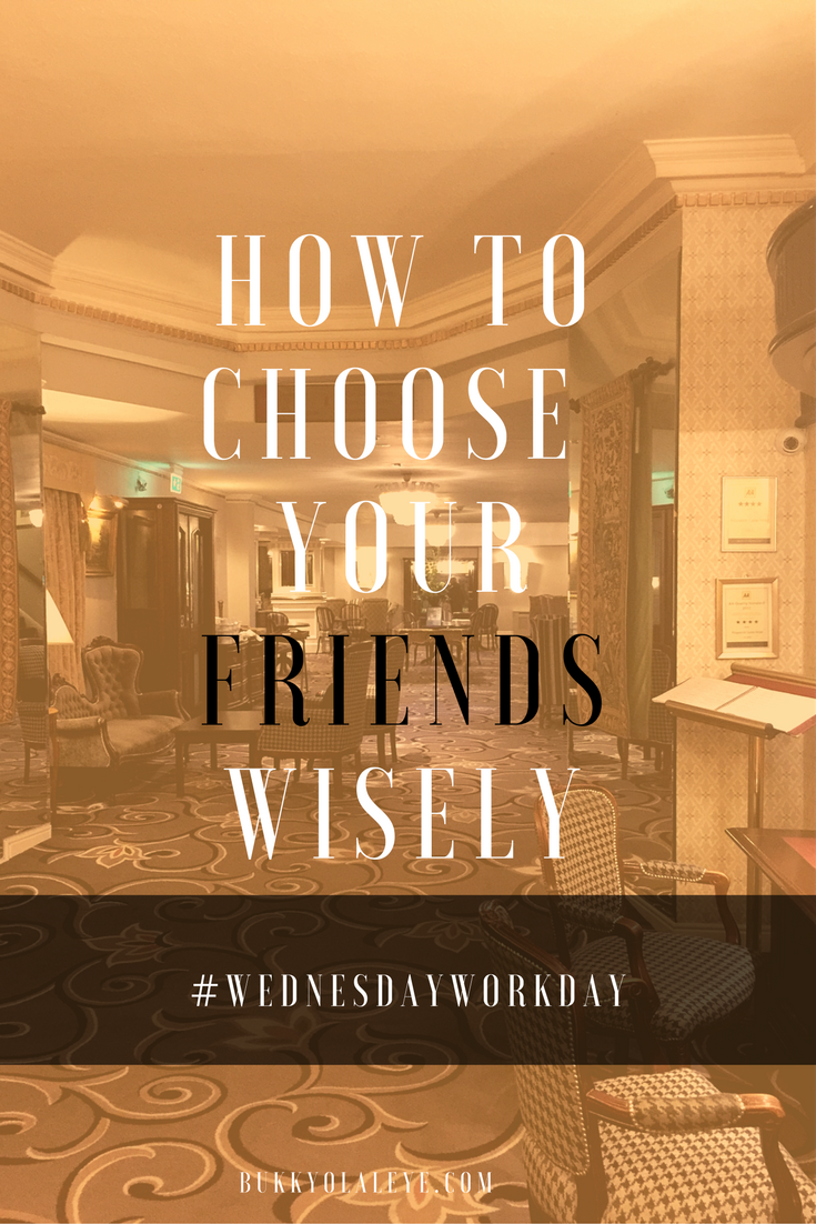 choose wisely bukky olaleye