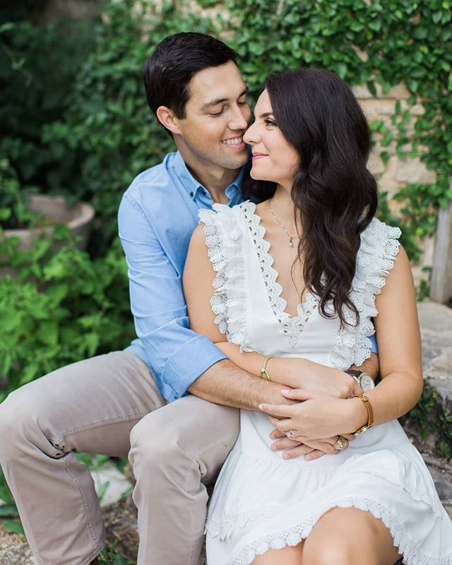 Taylor and David's engagement session is on the blog today! The Antique Rose Emporium never disappoints with all of it's pretty spots for photos. What a joy it was to hang out and photograph these two in this sweet season of life! Thanks for dealing with my 8 month pregnant self in July in Texas, you two 😉💕 #kristinarossphotography