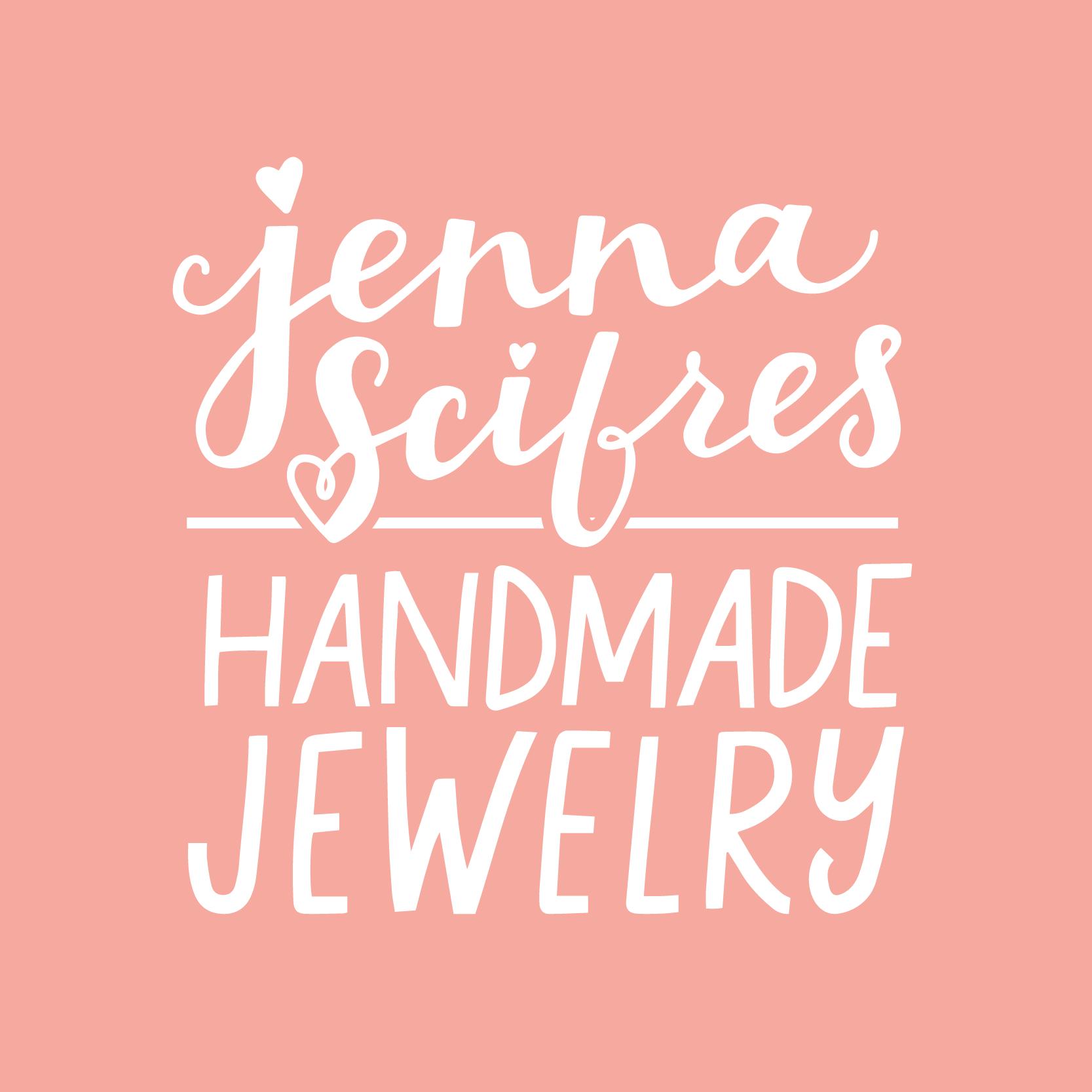 Jenna Scifres Handmade Jewelry Logo Design