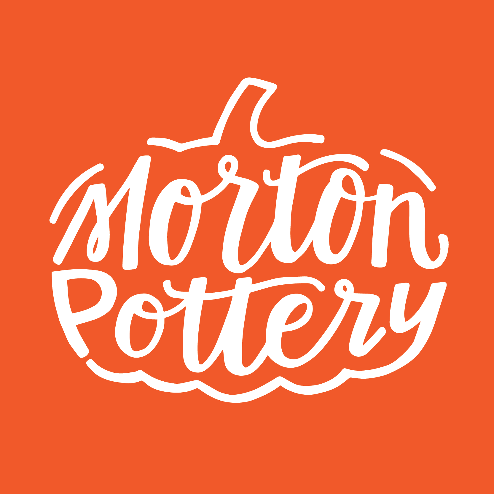 Morton Pottery Logo Design