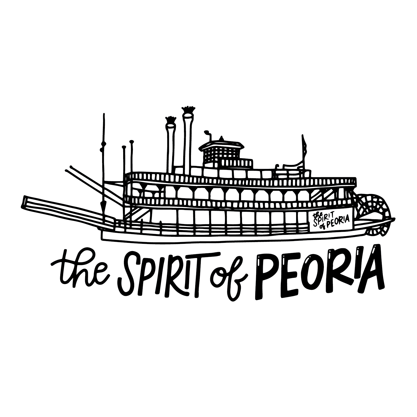 Spirit of Peoria Illustration