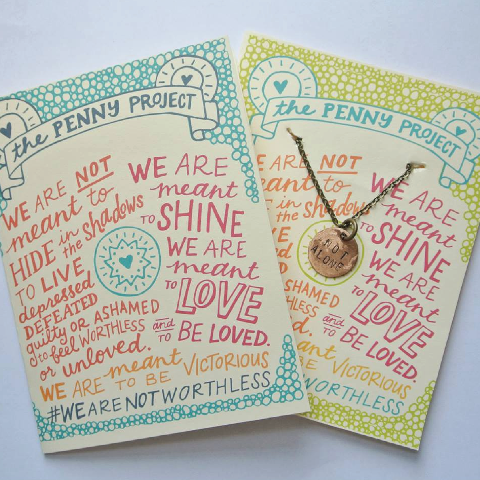 Penny Project Jewelry Packaging for Hey Lola