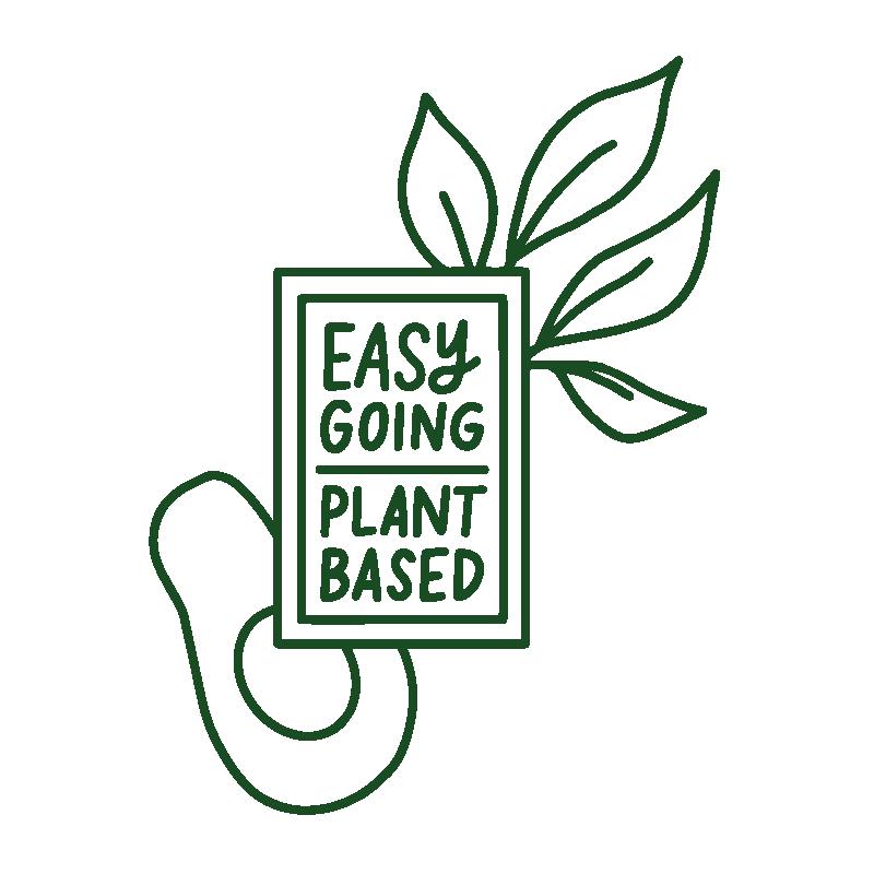 Easy Going Plant Based Logo Design