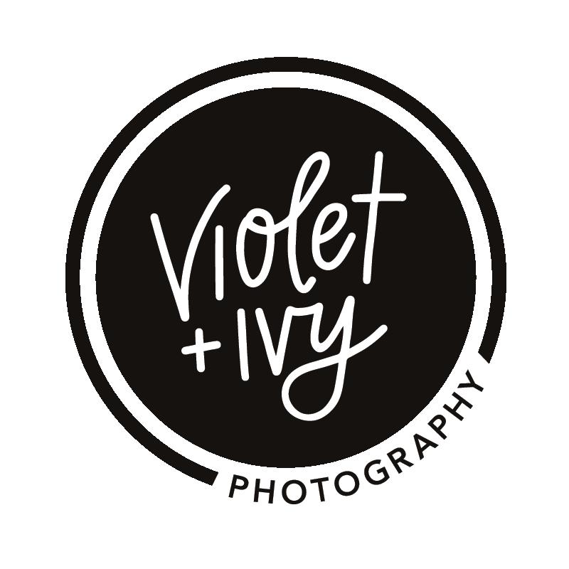 Violet + Ivy Photography Logo Design