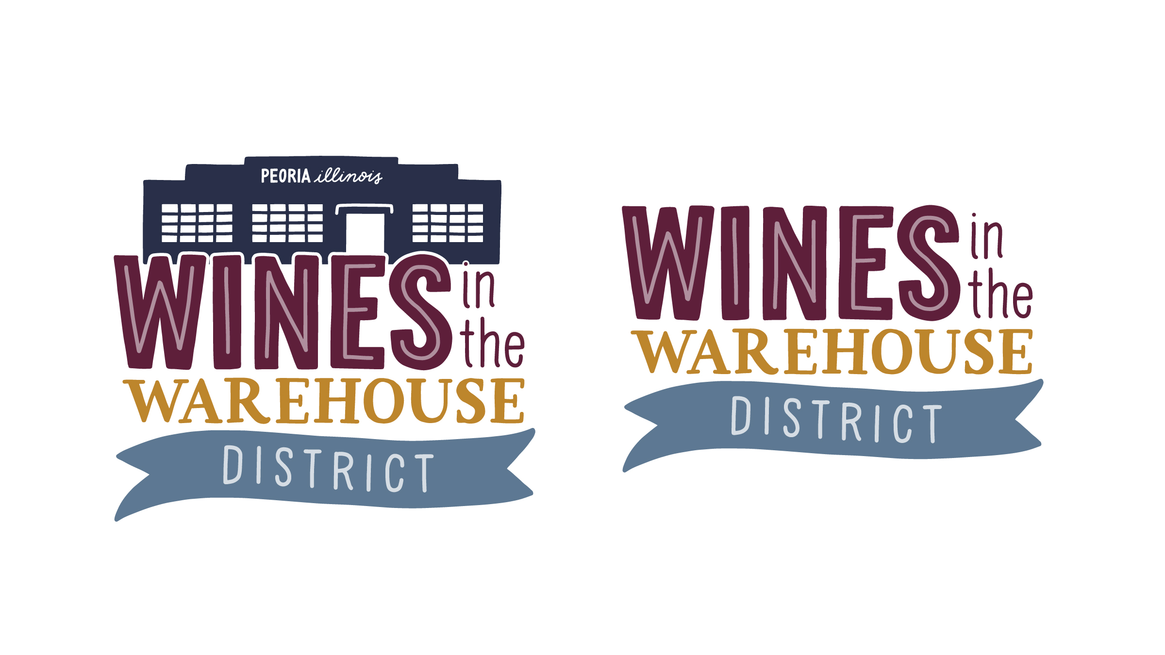 Wines in the Warehouse District Logo