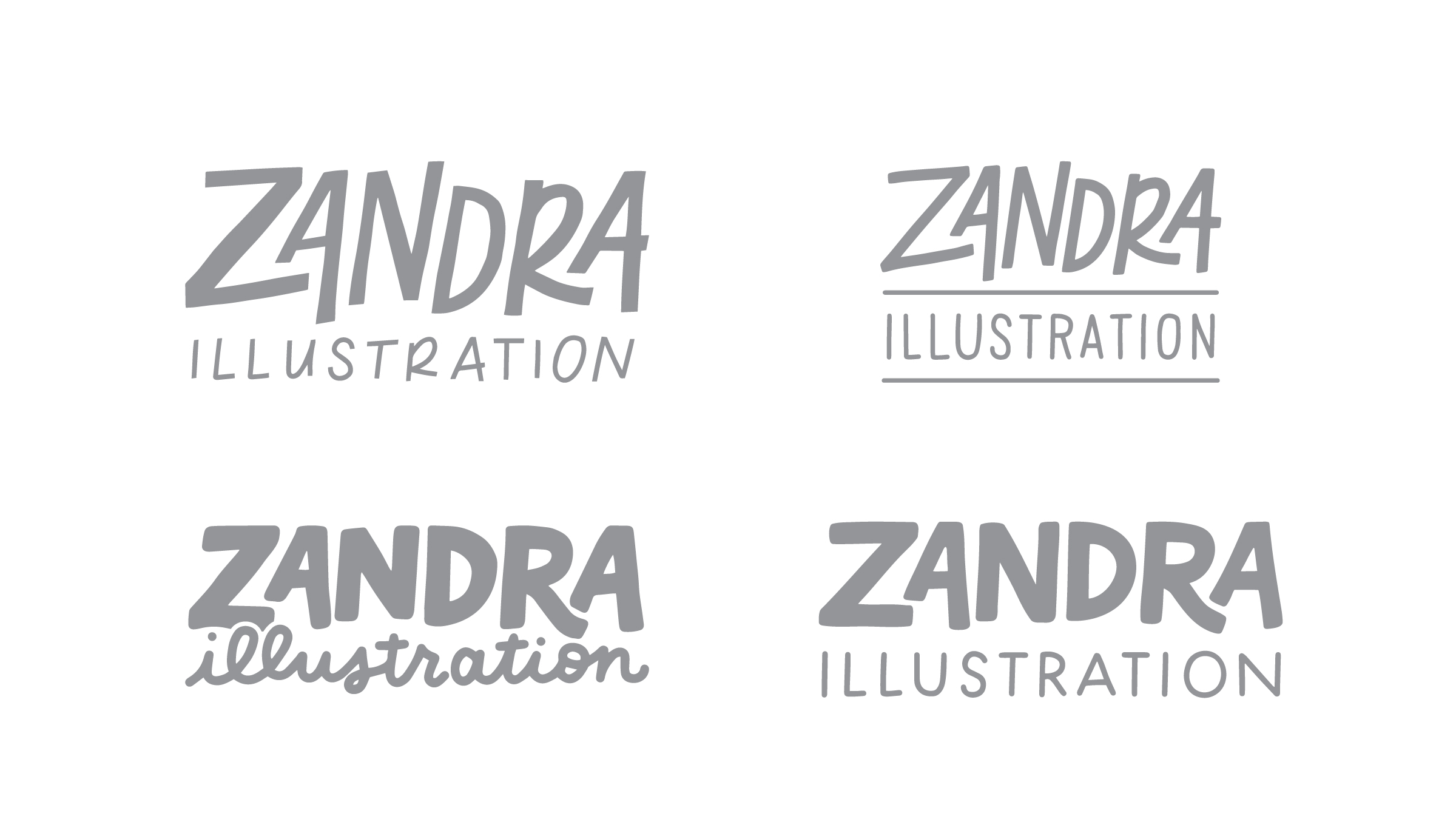 Zandra Illustration - The Process