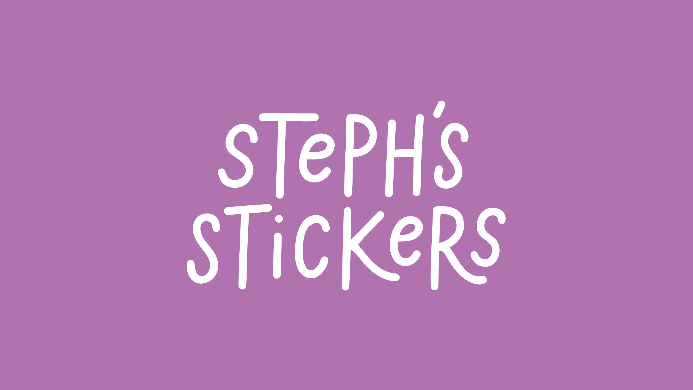 Steph's Stickers Logo