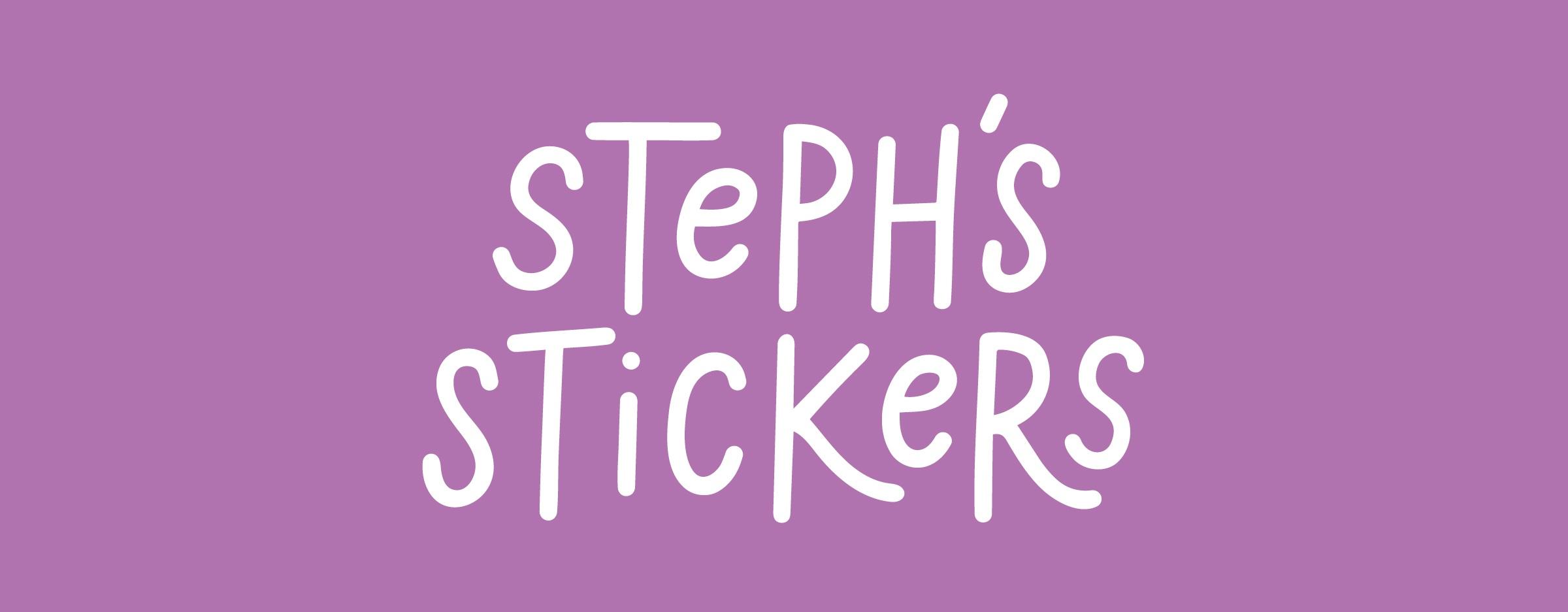 Stephs Stickers Logo Design