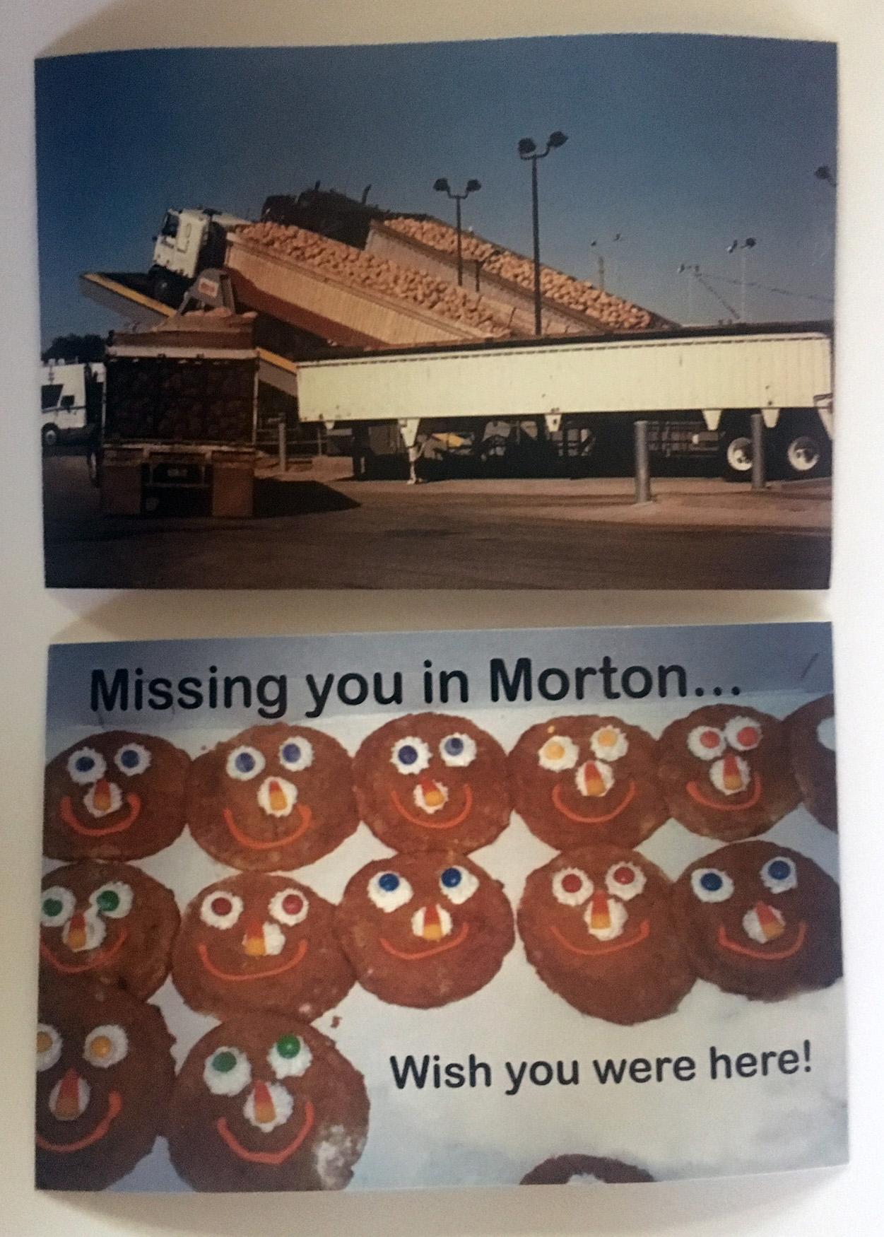 OLD Morton Postcards